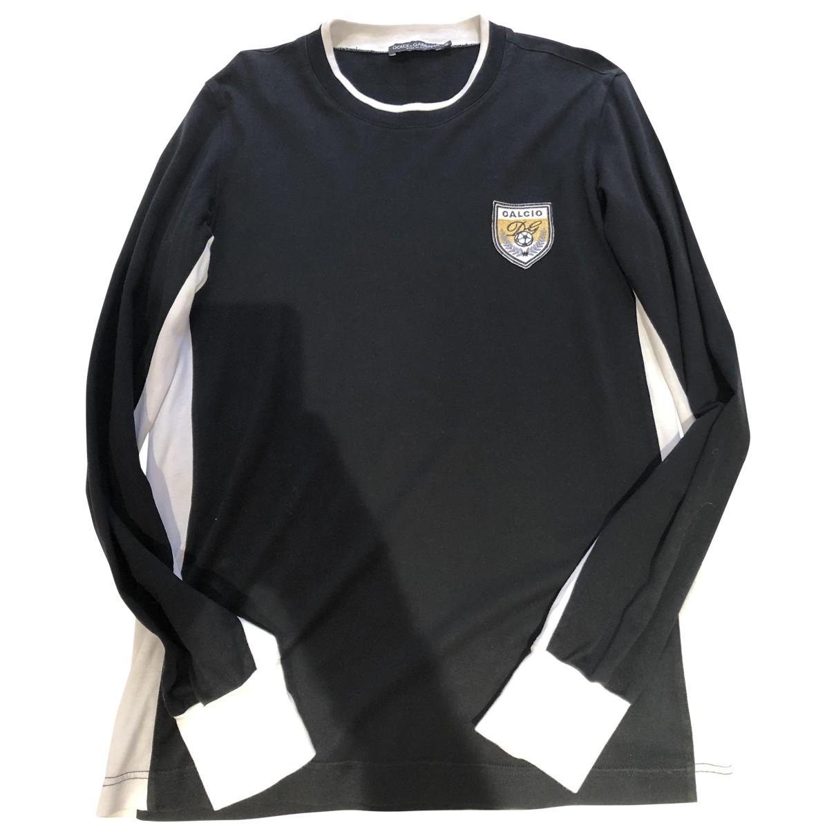 Dolce & Gabbana \N Black Cotton T-shirts for Men L International