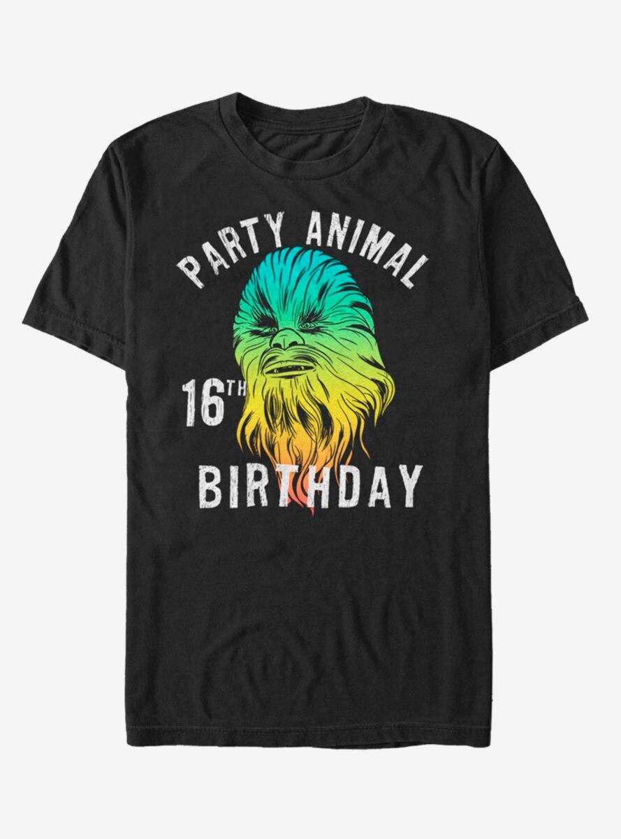 Star Wars Chewie Birthday Sixteen T-Shirt