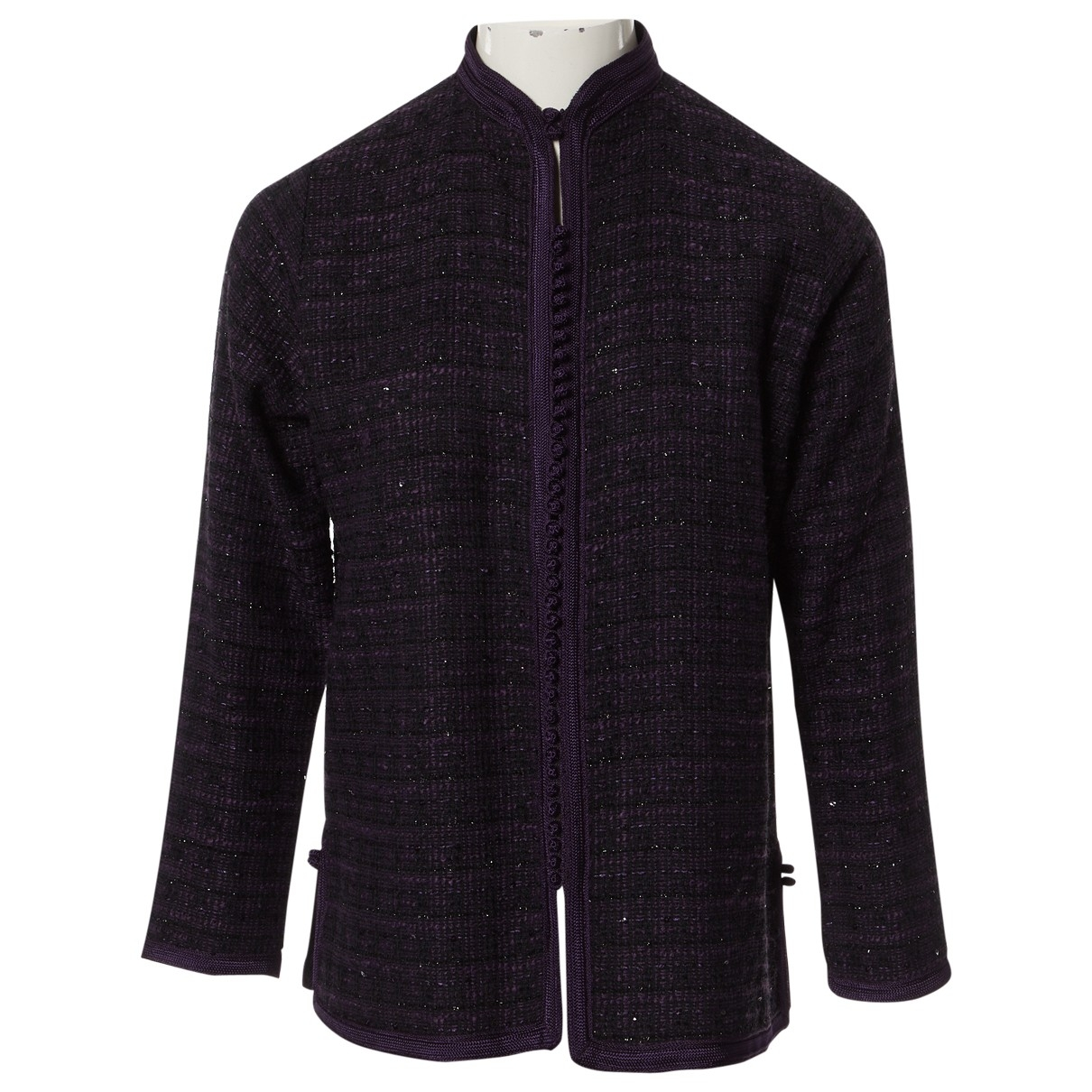 Non Signé / Unsigned \N Black Wool jacket for Women S International