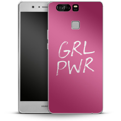 Huawei P9 Silikon Handyhuelle - GRLPWR von caseable Designs