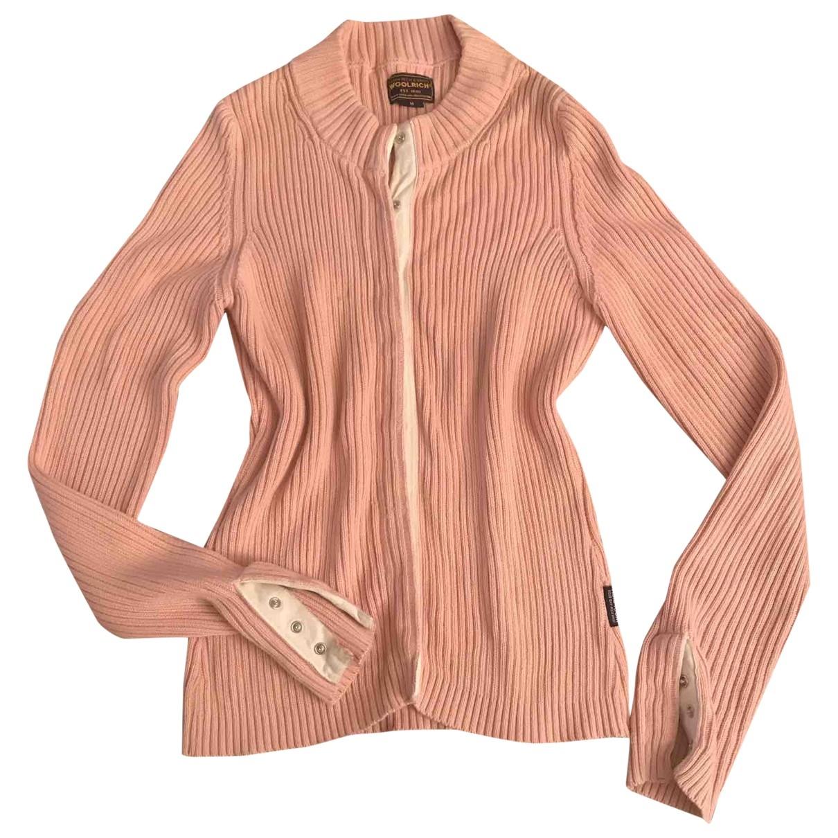 Woolrich \N Pink Cotton Knitwear for Women M International