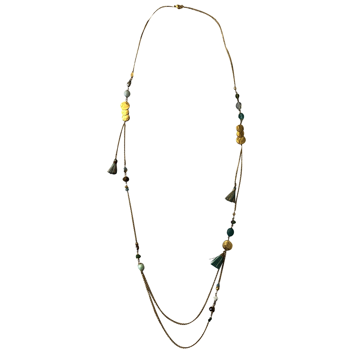 Gas \N Gold Gold plated Long necklace for Women \N