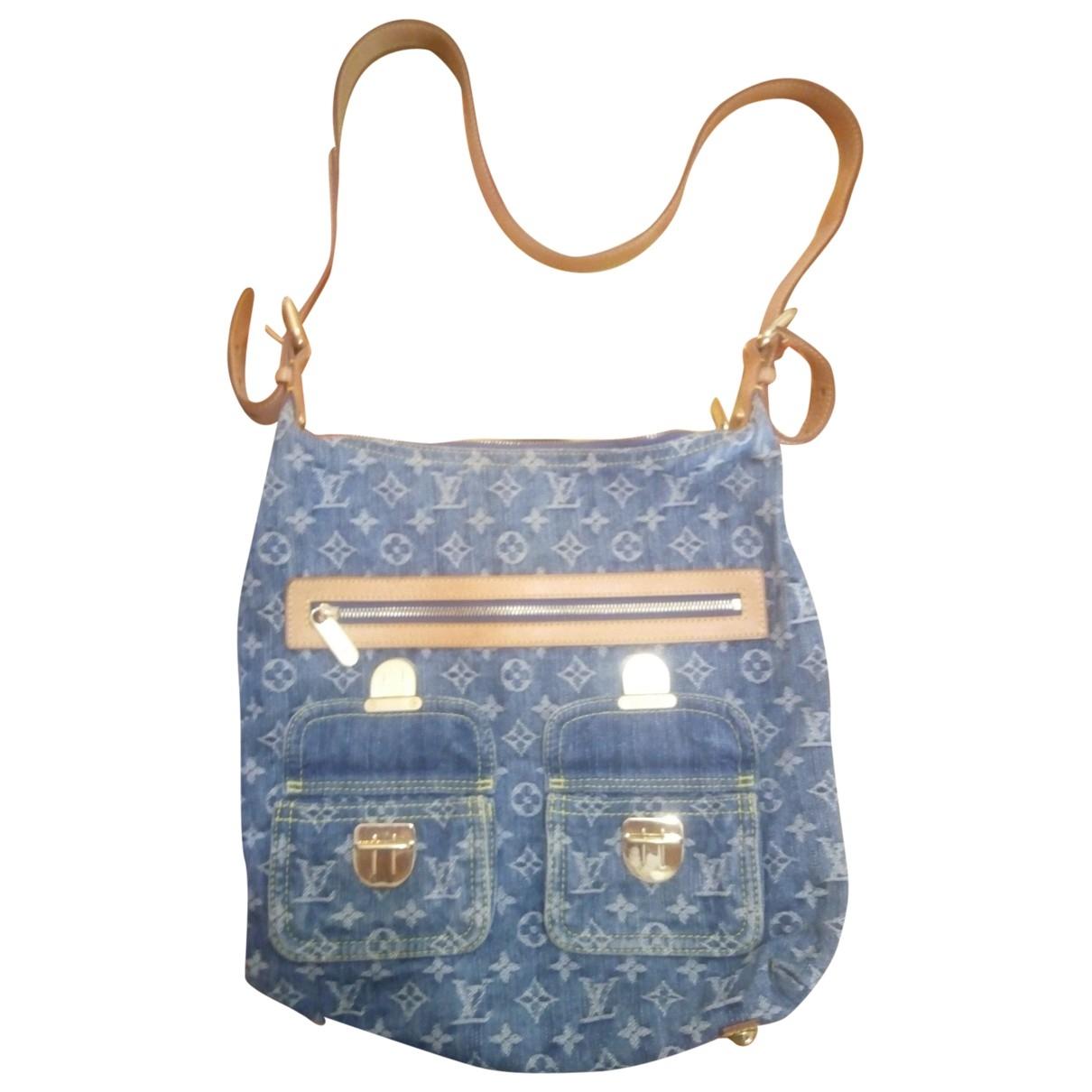 Louis Vuitton Baggy Handtasche in Denim - Jeans