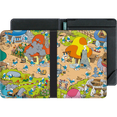 tolino vision eBook Reader Huelle - Smurf Village von The Smurfs