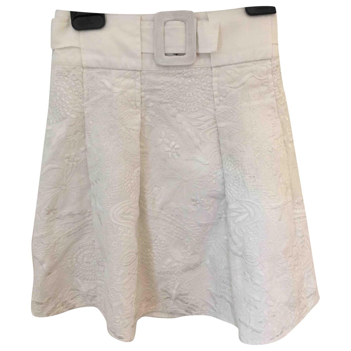 Essentiel Antwerp \N White Cotton skirt for Kids 6 years - up to 114cm FR