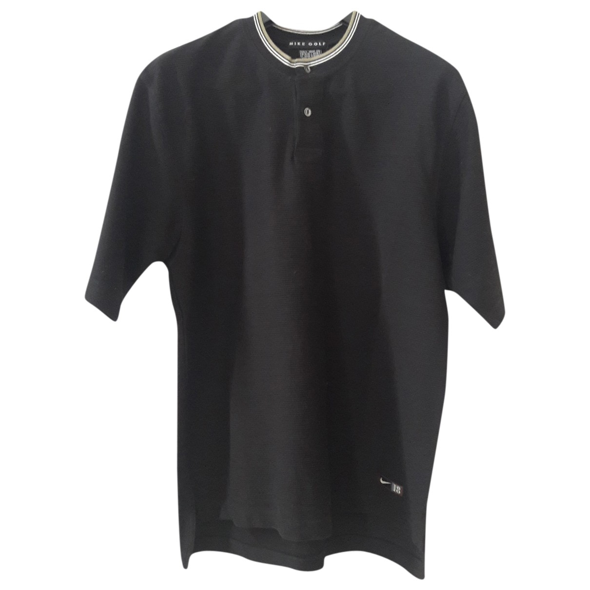 Nike \N Poloshirts in  Schwarz Baumwolle