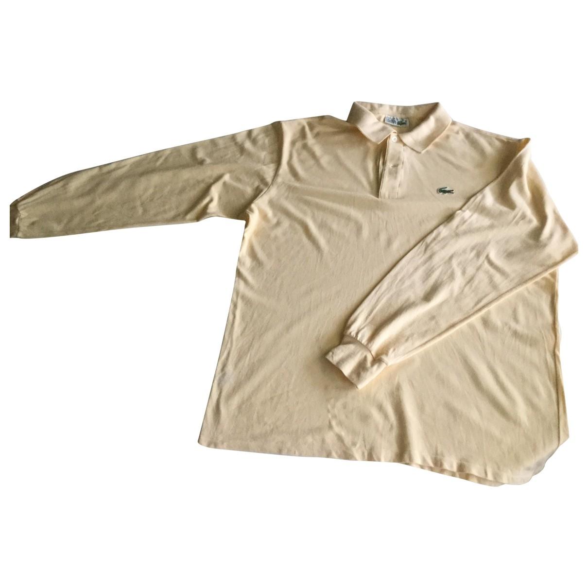 Lacoste \N T-Shirts in  Gelb Baumwolle