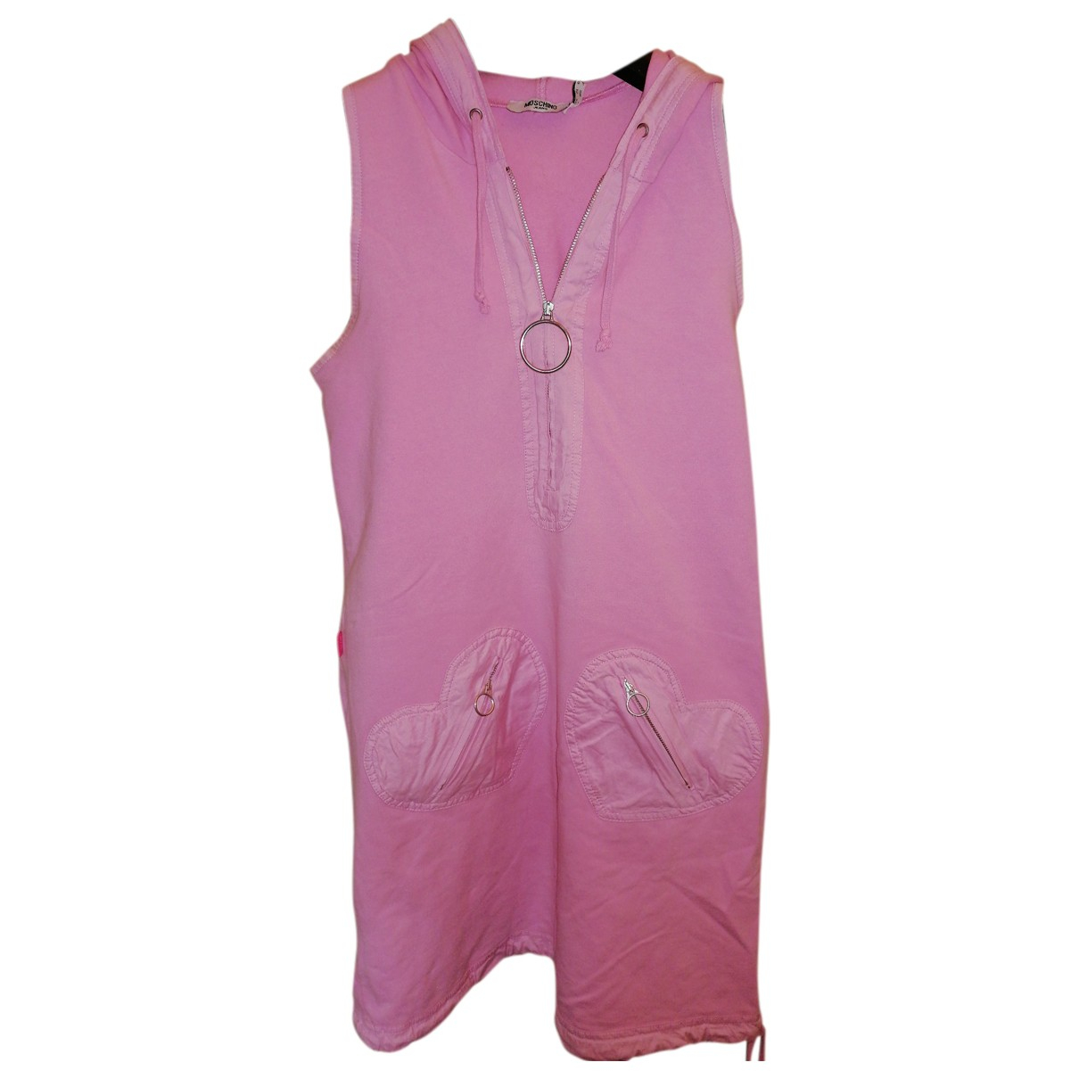 Moschino Cheap And Chic - Robe   pour femme en coton - rose