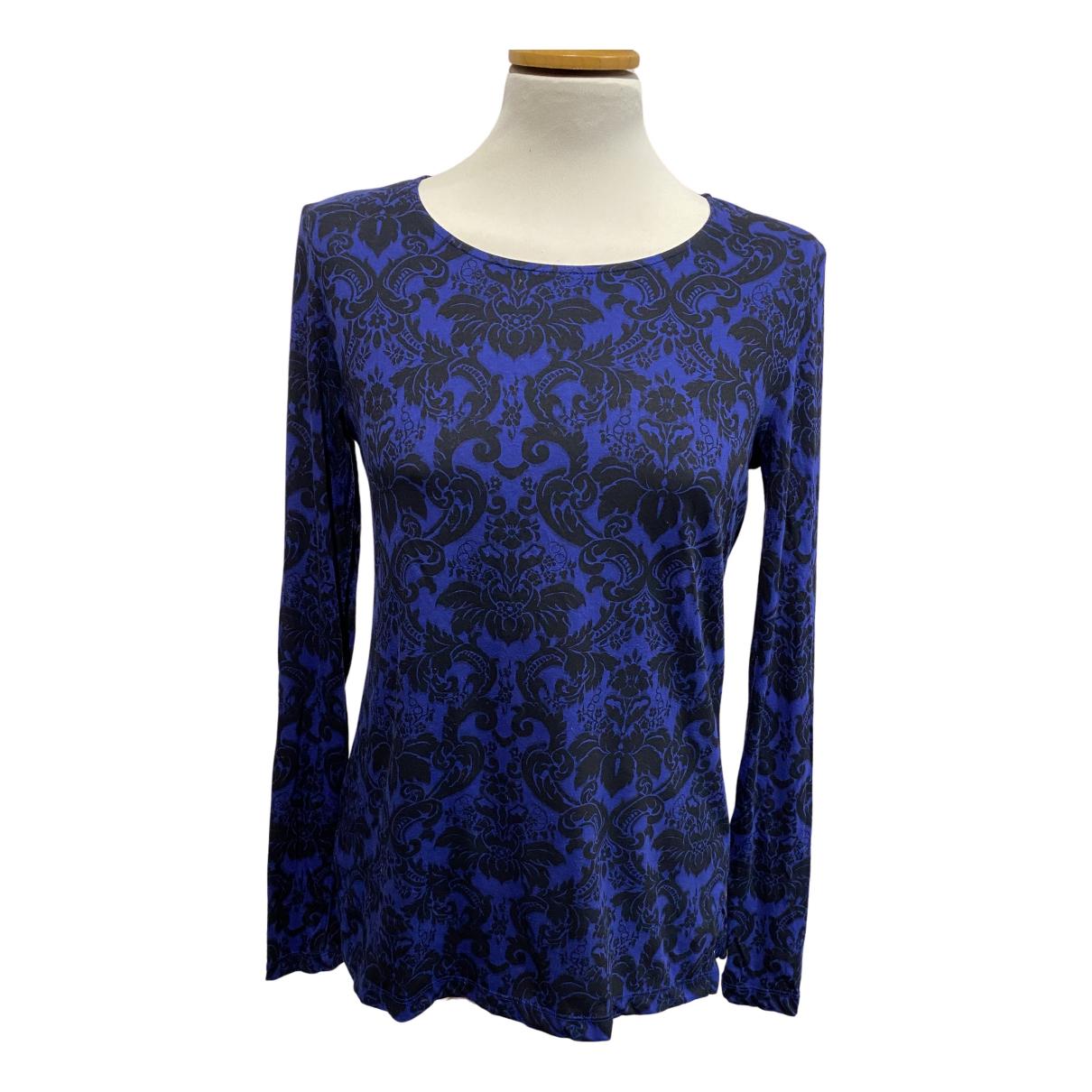 Stella Mccartney - Top   pour femme en coton - bleu
