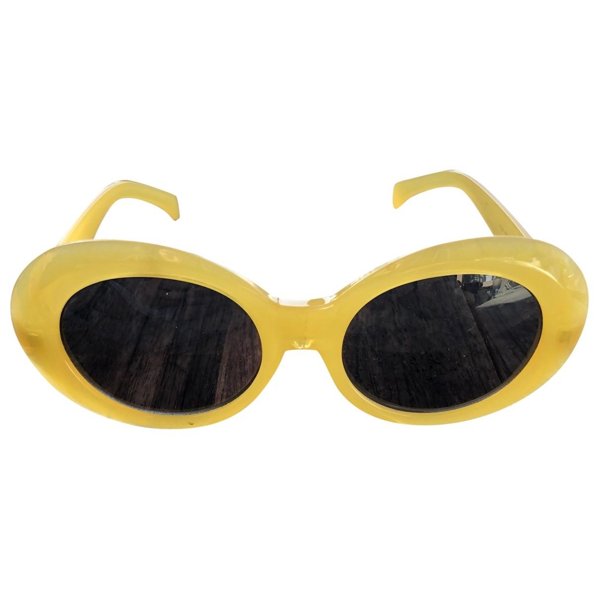- Lunettes   pour femme - jaune