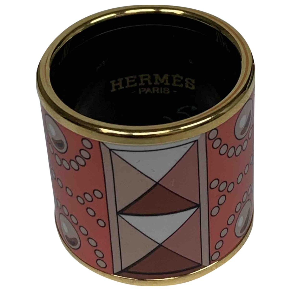 Hermès Anneau de Foulard Pink scarf for Women N