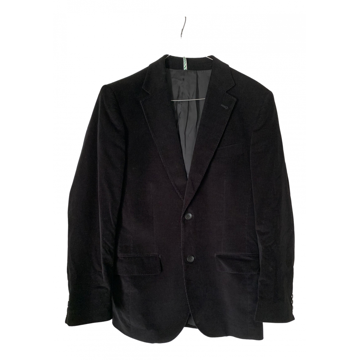 Carven \N Black Cotton jacket  for Men 50 FR