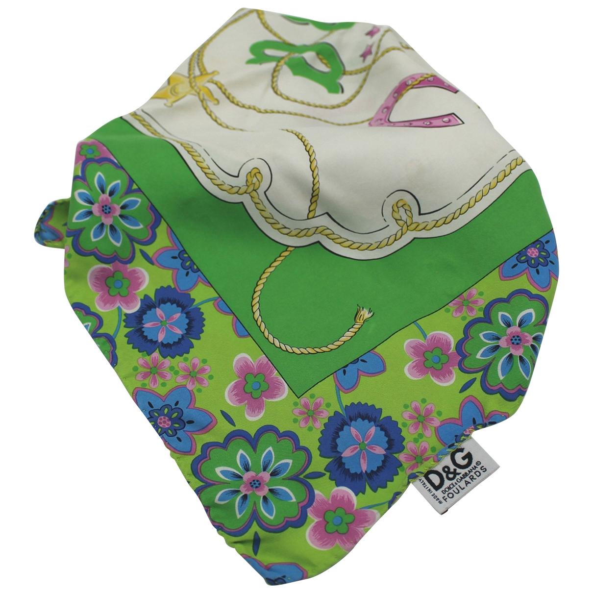 D&g \N Multicolour Cotton Silk handkerchief for Women \N