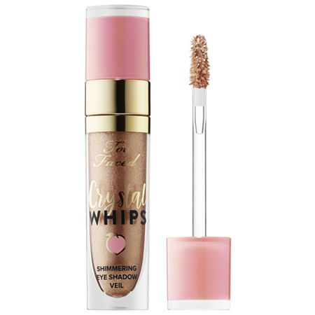 Too Faced Peaches & Cream Crystal Whips Long-Wearing Shimmering Eye Shadow Veil, One Size , No Color Family