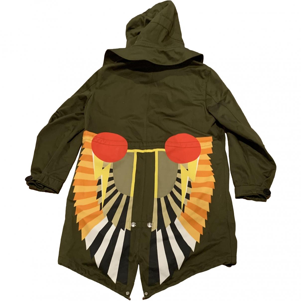 Givenchy - Manteau   pour femme en coton - kaki