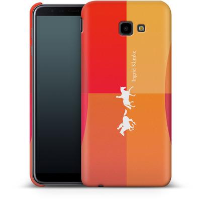Samsung Galaxy J4 Plus Smartphone Huelle - Geometric Silhouette von Ingrid Klimke