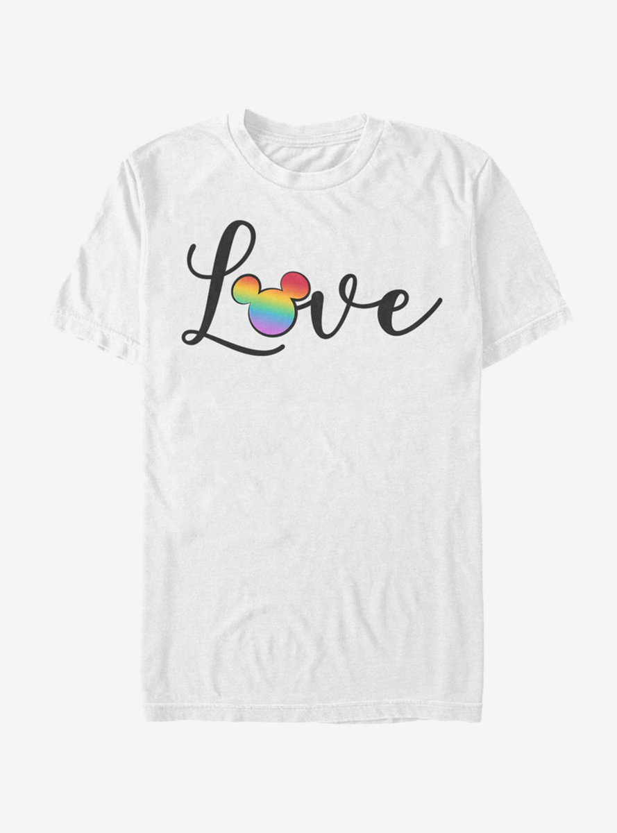Disney Mickey Mouse Love And Disney T-Shirt
