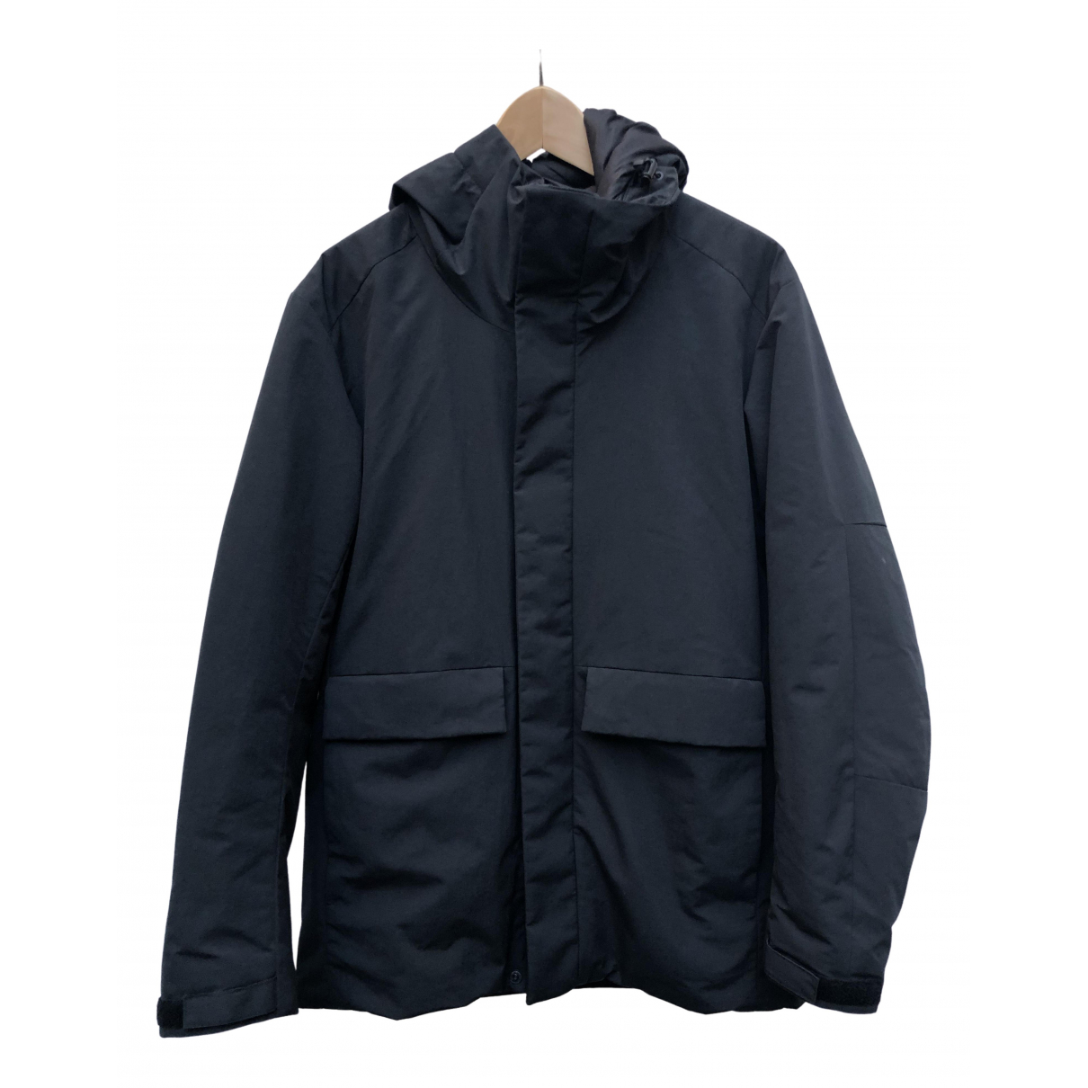 Uniqlo - Manteau   pour homme - noir