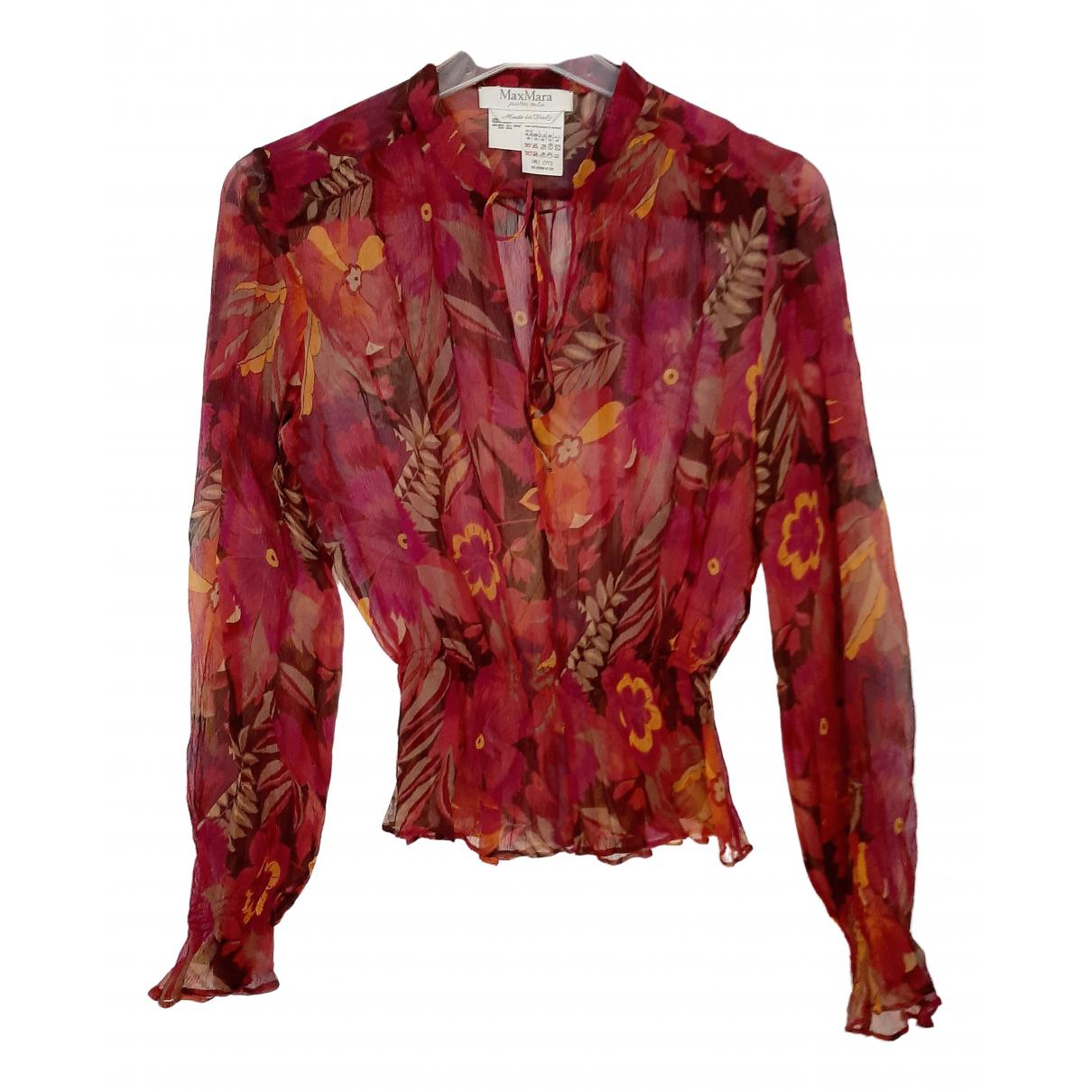 Max Mara N Multicolour Silk  top for Women 12 UK
