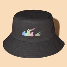 Fire Pattern Bucket Hat