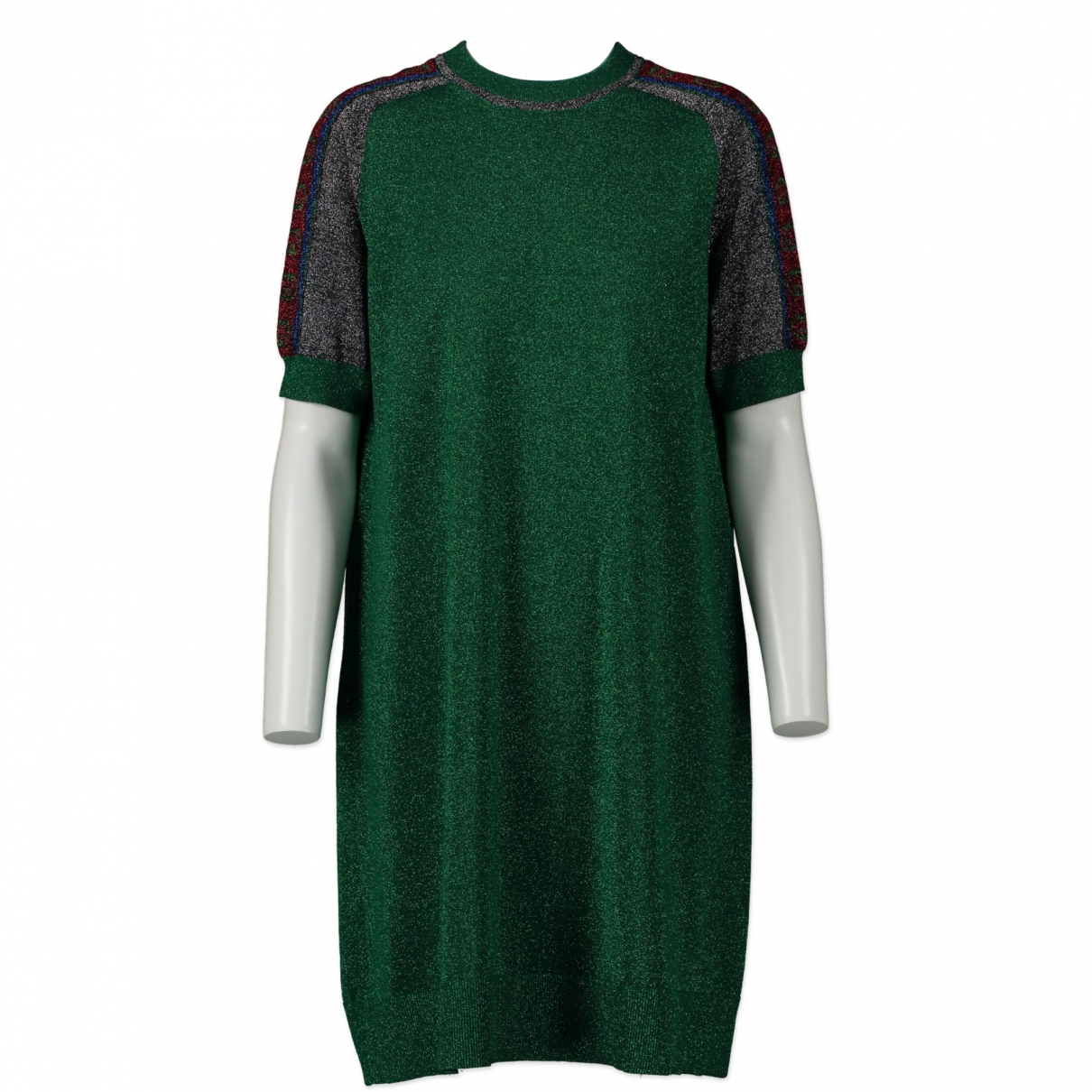 Gucci - Robe   pour femme en coton - vert