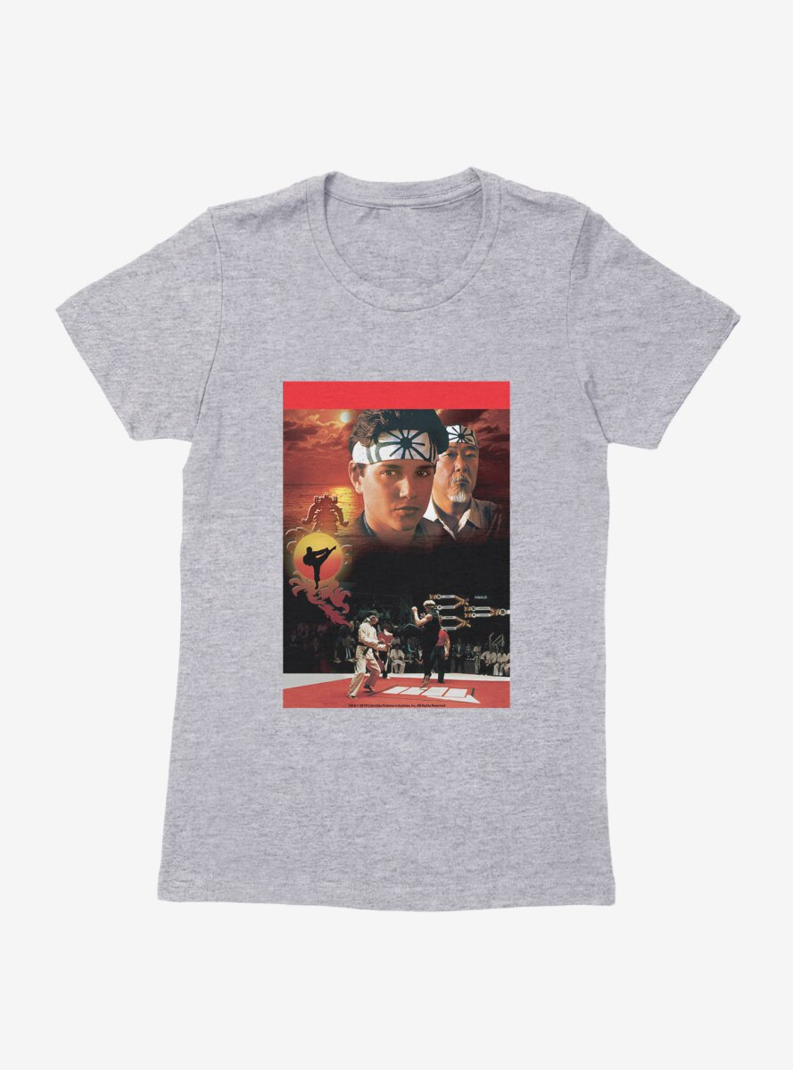 The Karate Kid Movie Scenes Womens T-Shirt