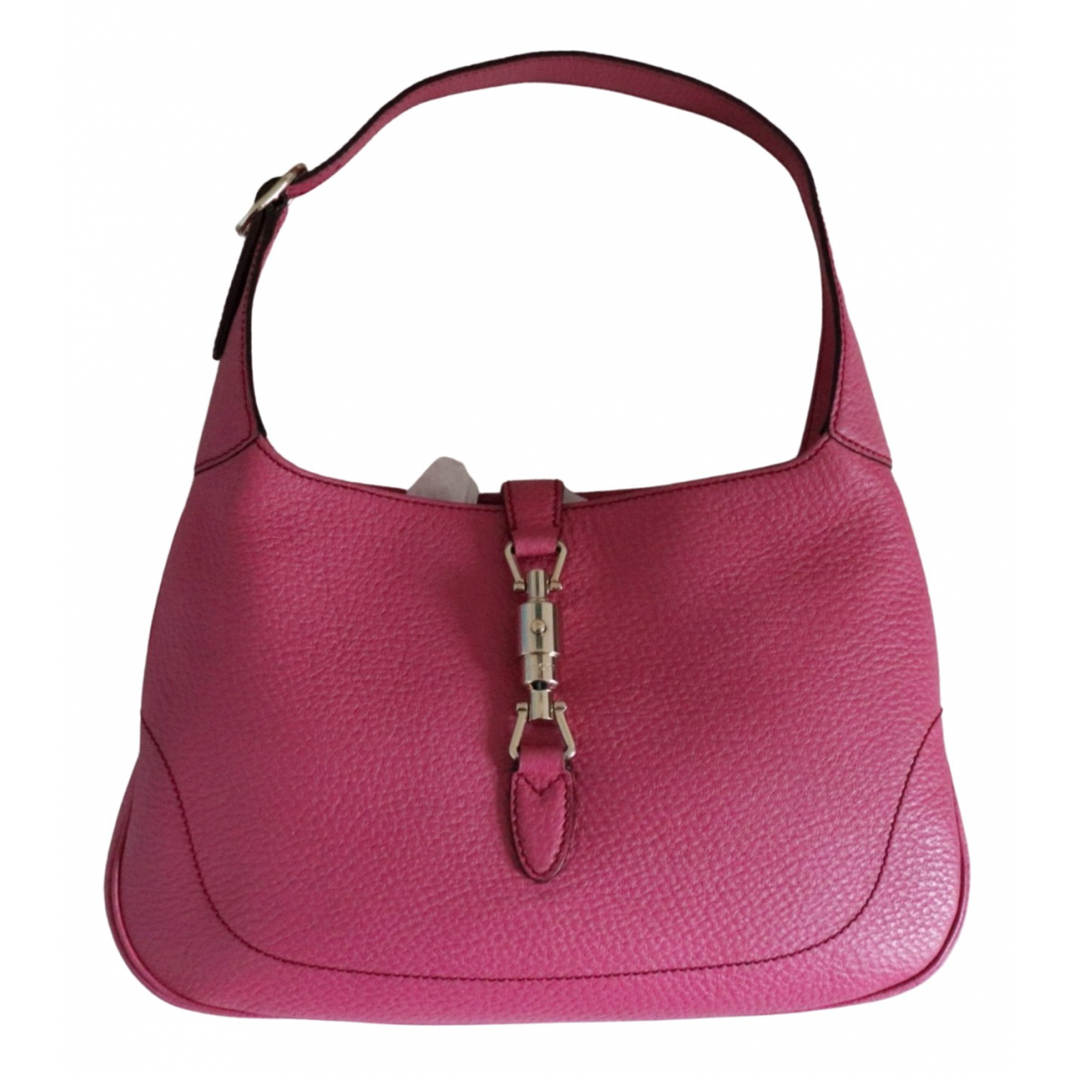 Gucci Jackie Pink Leather handbag for Women \N