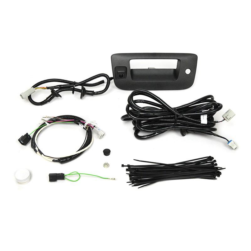 Brandmotion 9002-9501 Rearview Camera Kit for Nav Radio - Complete Kit Chevy Silverado 09-13