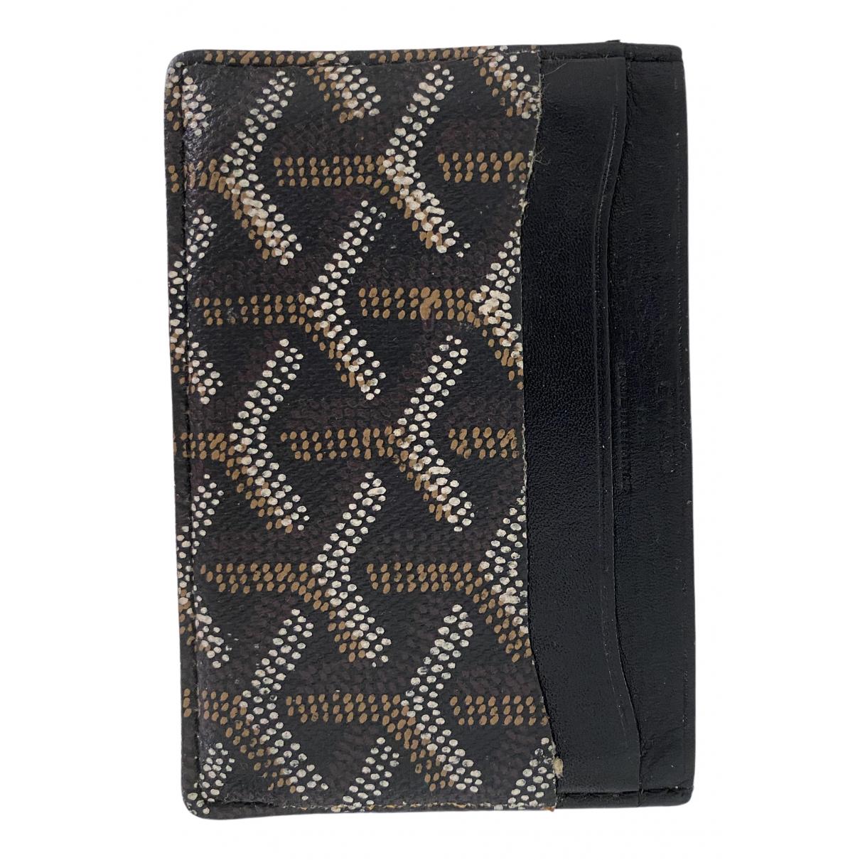 Goyard \N Black Cloth Purses, wallet & cases for Women \N
