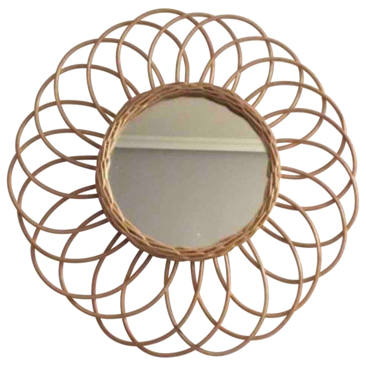 Non Signé / Unsigned \N Ecru Wicker Home decor for Life & Living \N