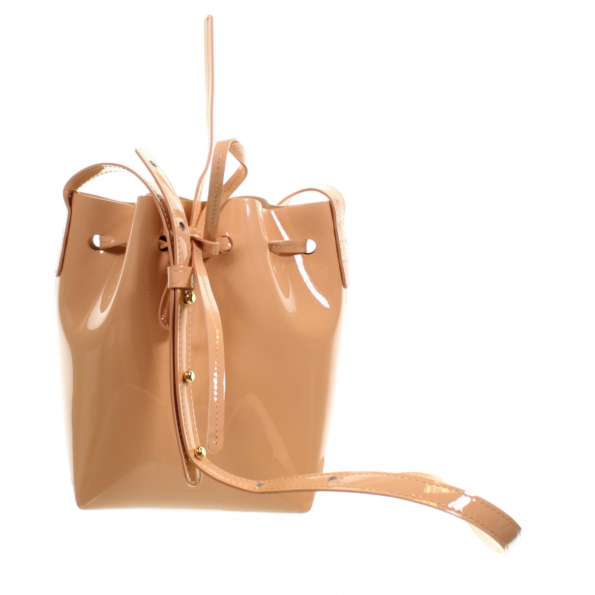Mansur Gavriel \N Handtasche in  Rosa Lackleder