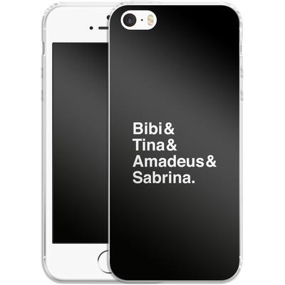 Apple iPhone 5 Silikon Handyhuelle - Bibi&Tina&Amadeus&Sabrina von Bibi & Tina