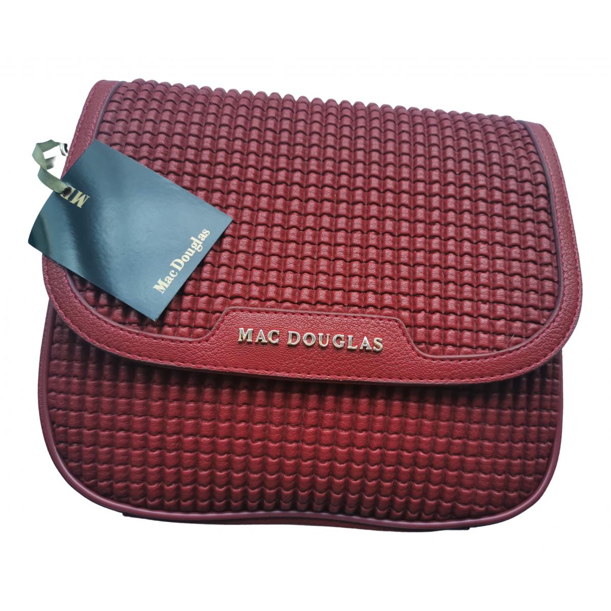 Mac Douglas \N Handtasche in  Bordeauxrot Synthetik