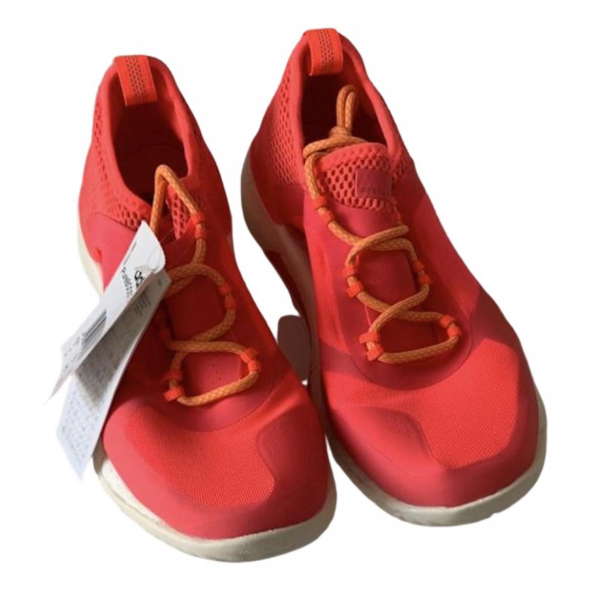 Adidas \N Sneakers in  Orange Kautschuk