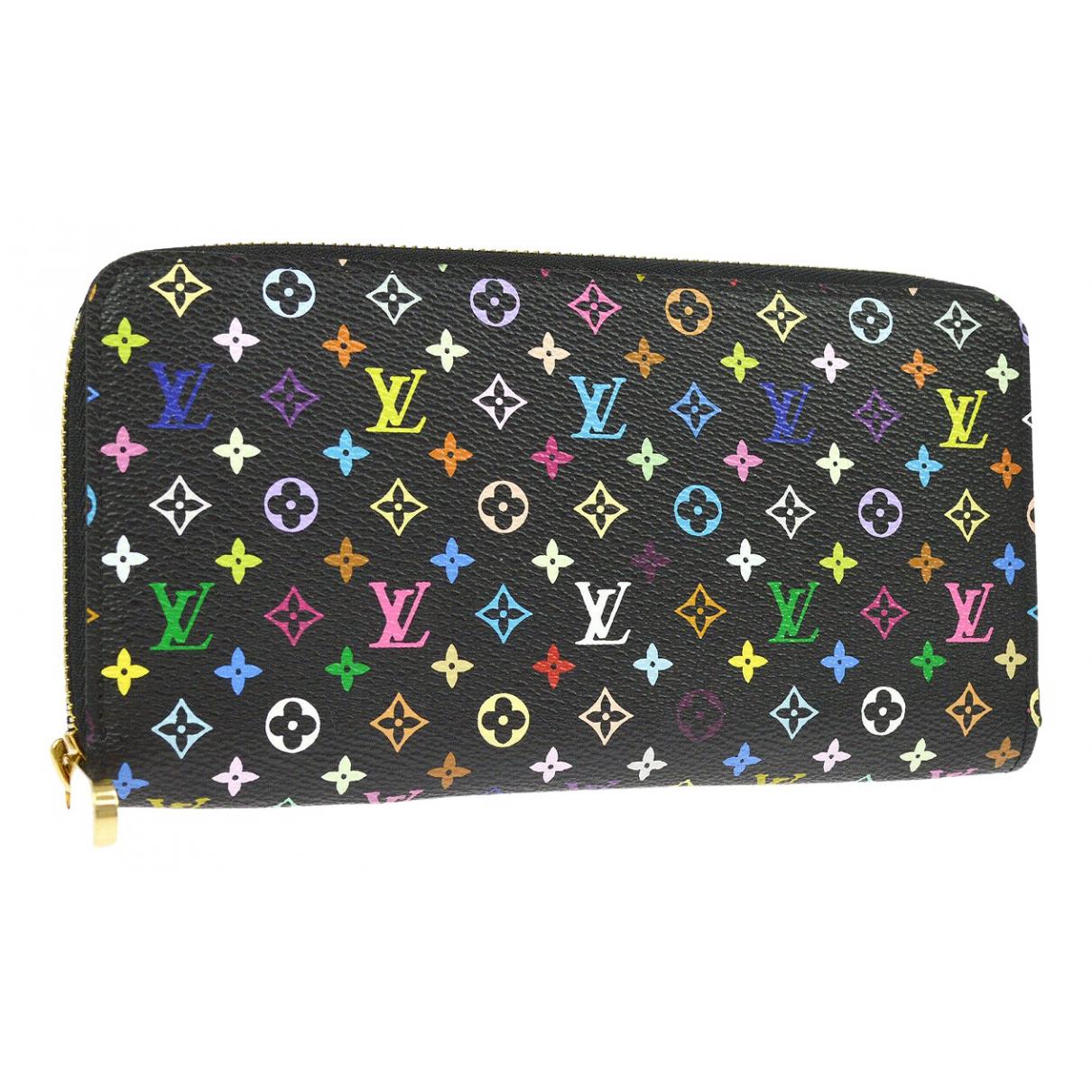 Louis Vuitton - Portefeuille Zippy pour femme en toile - multicolore
