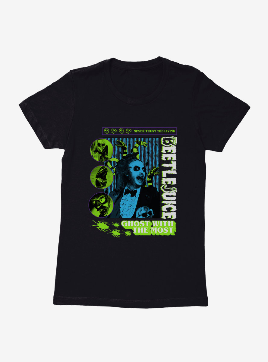 Beetlejuice Monsters Womens T-Shirt
