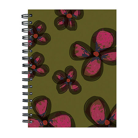 Tf Publishing Painted Flowers Journal, One Size , Green