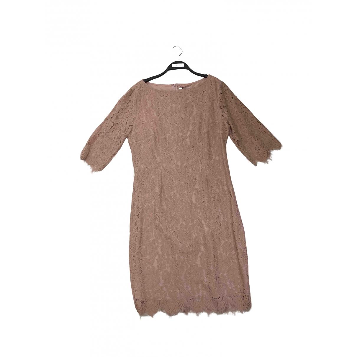 Max & Moi - Robe   pour femme en dentelle - rose
