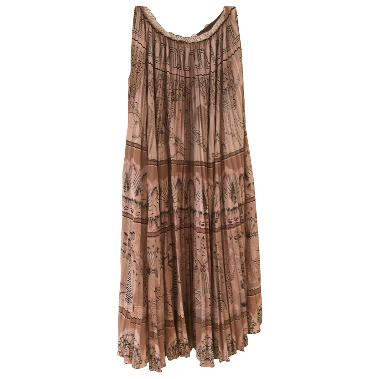 Valentino Garavani \N Silk skirt for Women 38 IT