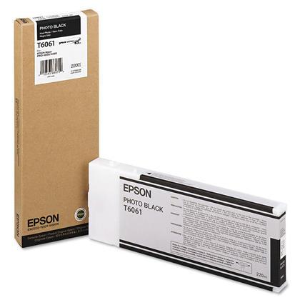 Epson T606100 cartouche de toner originale noire photo