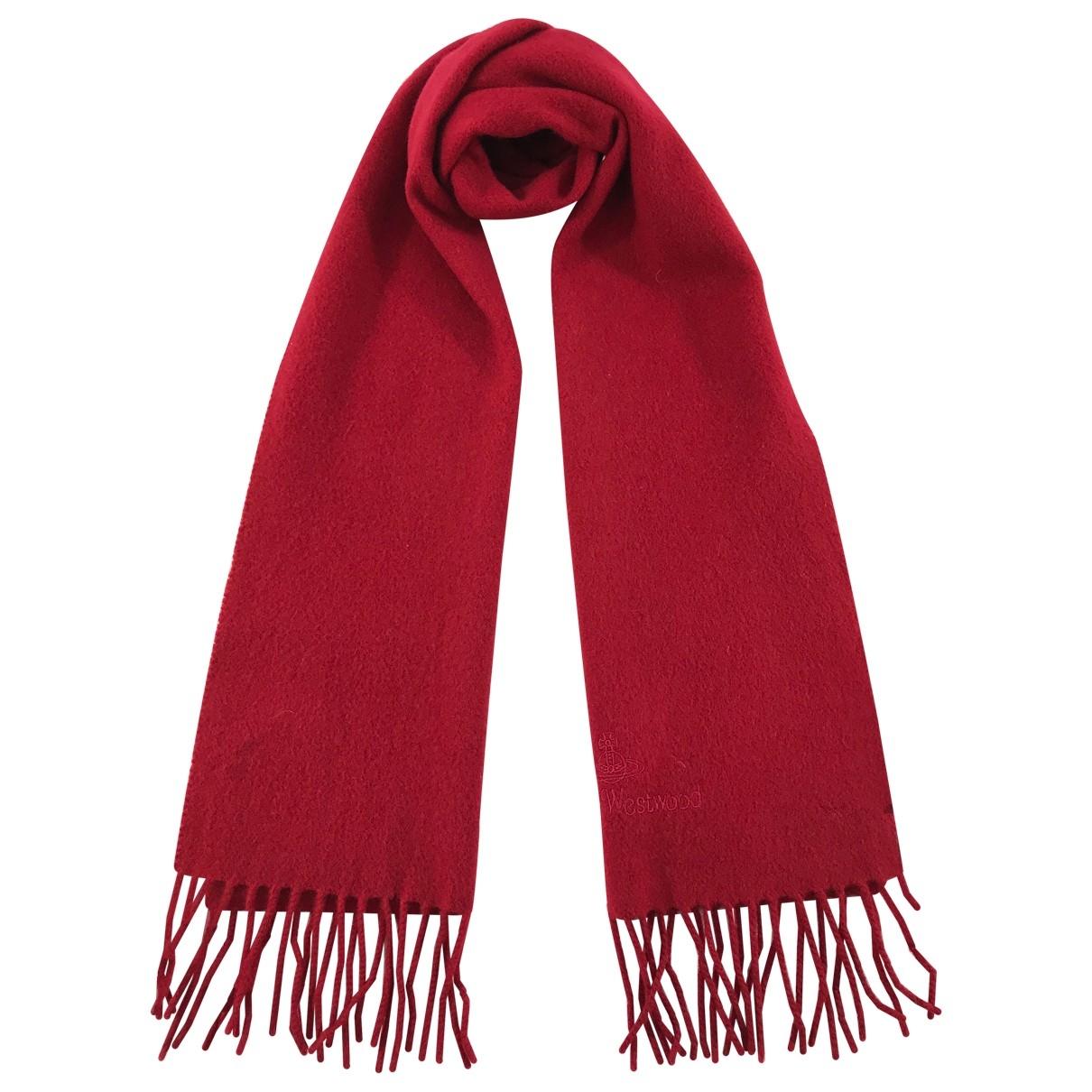 Vivienne Westwood \N Red Wool scarf for Women \N