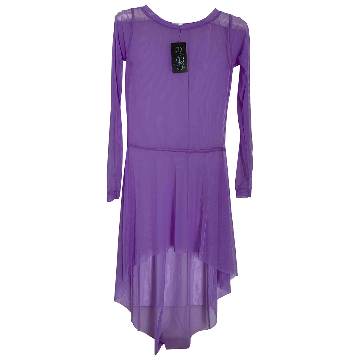 Non Signe / Unsigned \N Kleid in  Lila Synthetik