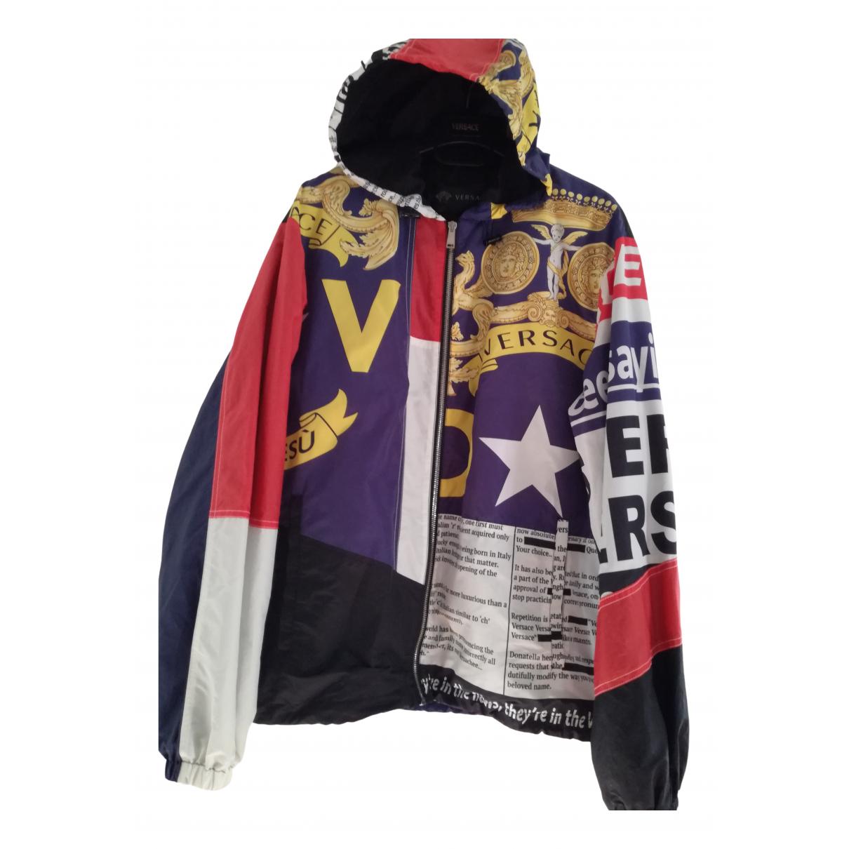 Versace N Multicolour jacket  for Men 48 IT