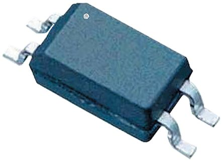 Toshiba , TLP291(BL-TP,SE(T DC Input Phototransistor Output Optocoupler, Surface Mount, 4-Pin SO4 (50)