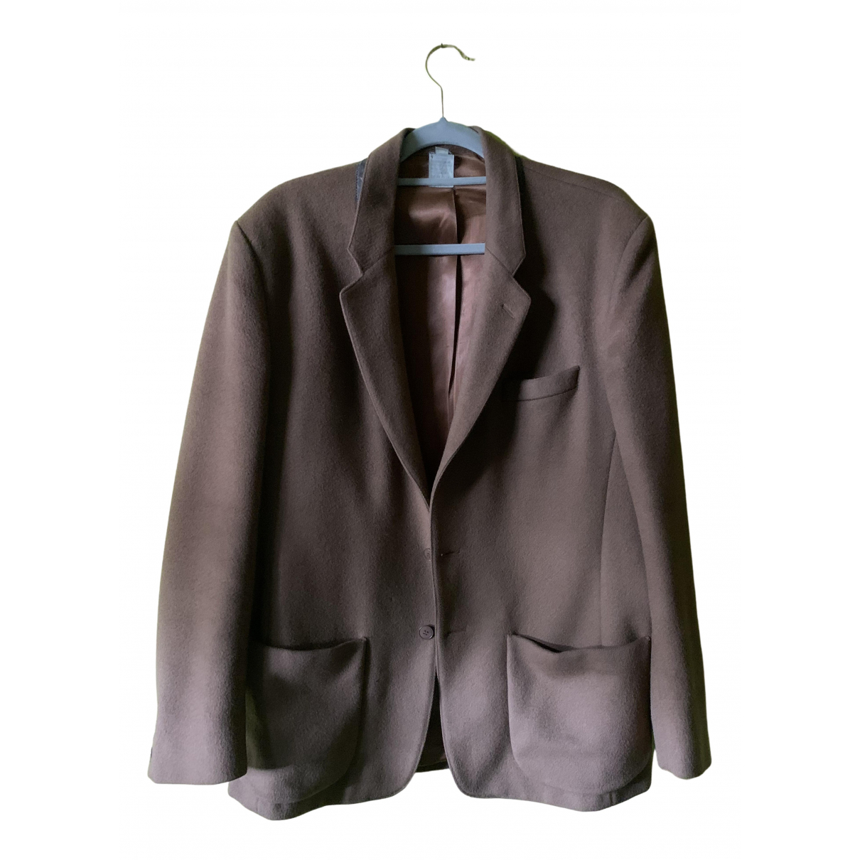 Agnès B. \N Camel Wool jacket  for Men M International