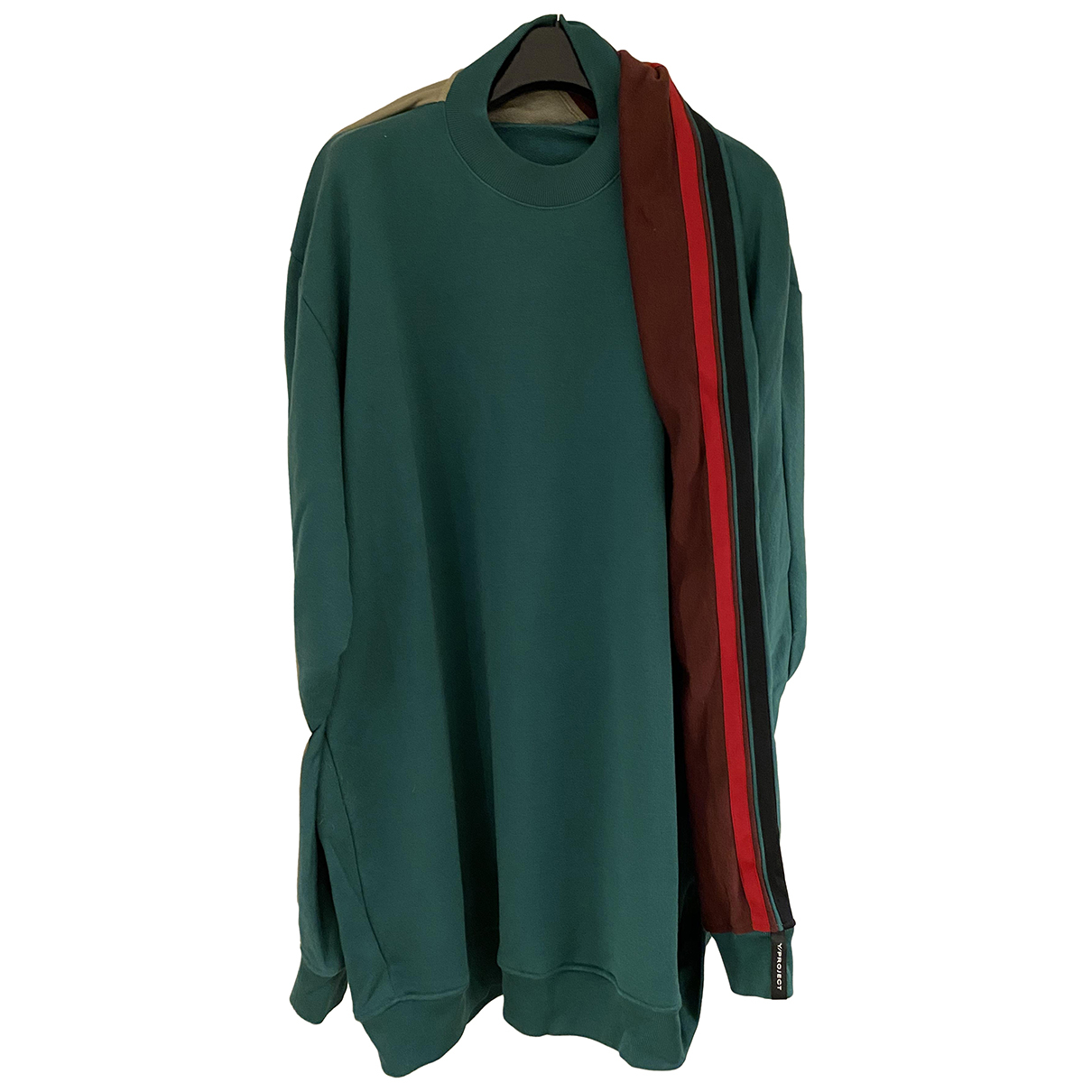 Y/project - Pulls.Gilets.Sweats   pour homme en coton - vert