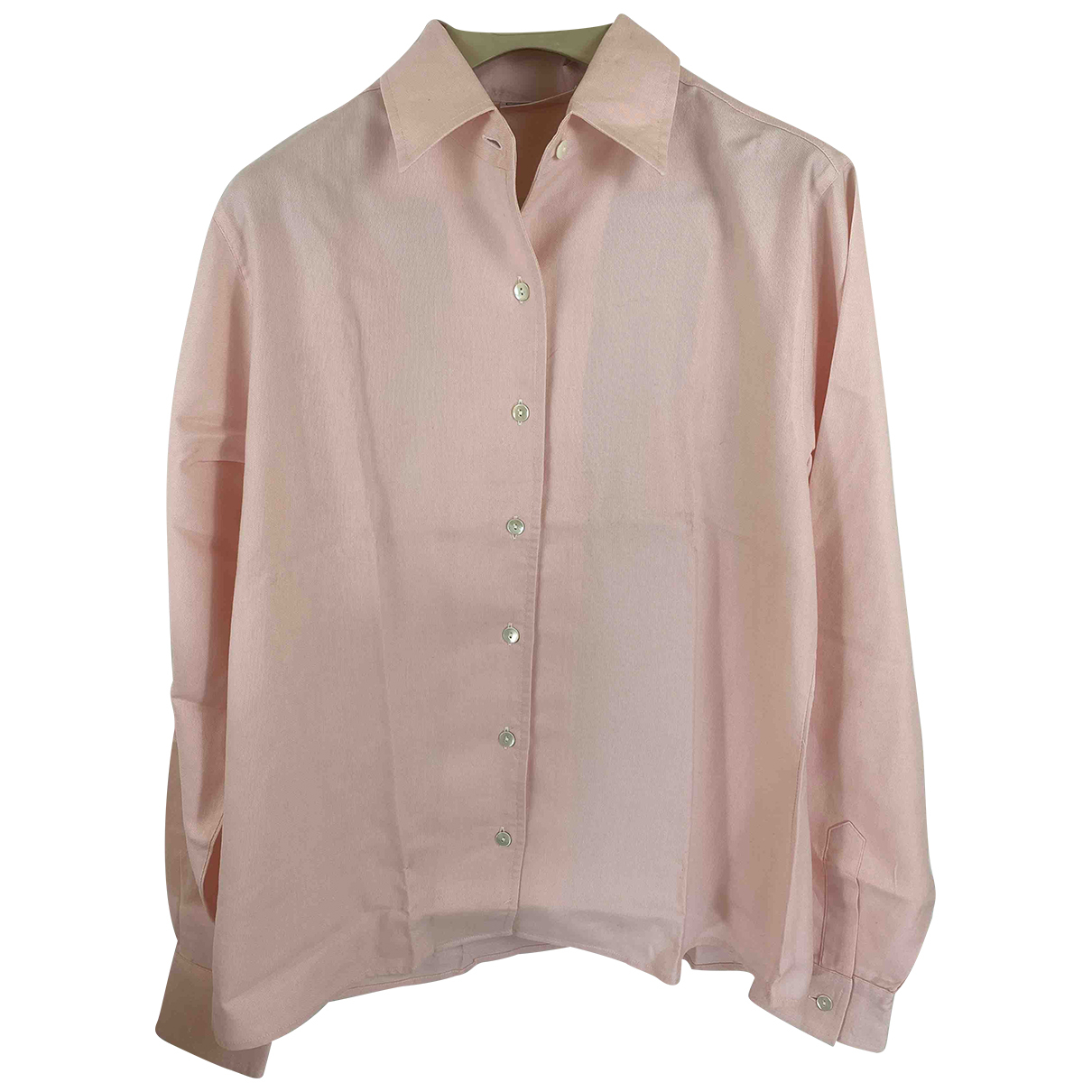 Burberry \N Pink Cotton  top for Women 42 IT