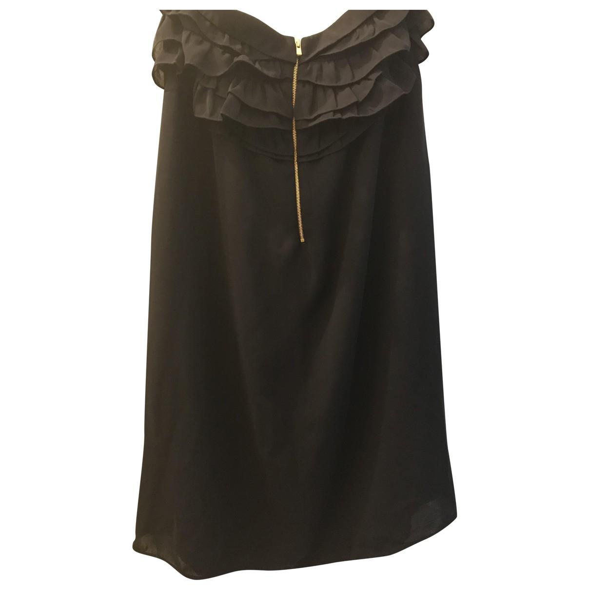 Sandro \N Kleid in  Marine Polyester