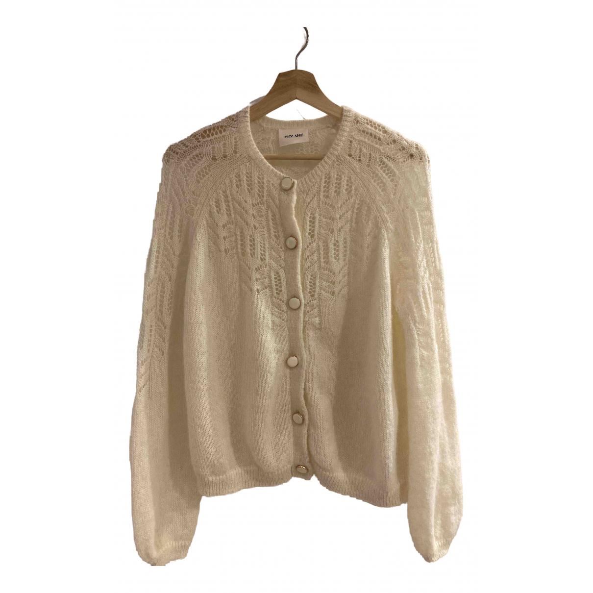 - Pull Oversize pour femme en laine - blanc