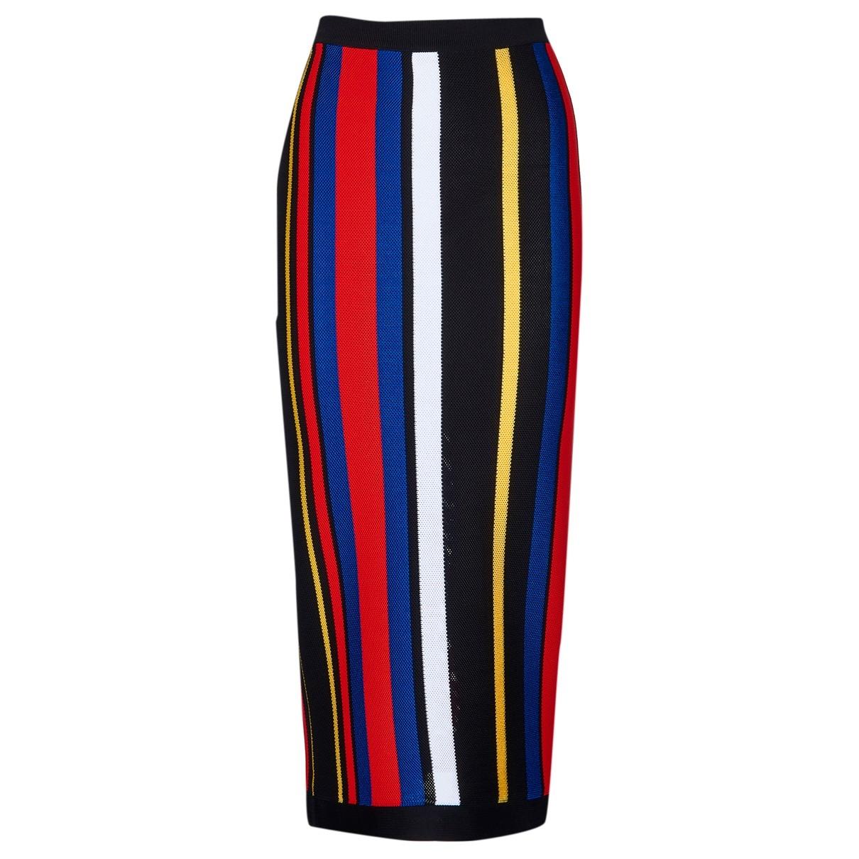 Balmain \N Multicolour skirt for Women 10 UK